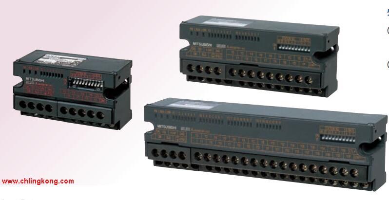 企业QQ:800091216 输入点数:16点AJ65SBTB2N-16A。 输入电压及电流:DC12/24V 3/7mA。 输入应答时间:10ms。 16点/1个公共端。 正极共用。 输出点数:12点。 输出电压:DC12V/24V。 OFF时漏电流:0.1mAAJ65SBTB2N-16A。 输出应答时间:2ms。 输出类型:晶体管输出。 8点/1个公共端,4点/1个公共端。 36点端子台。 带浪涌吸收器。 控制电磁阀所需的I/O点数由电磁阀的动作原理可知, 一个单线圈电磁阀用PLC控制时需2个输入及
