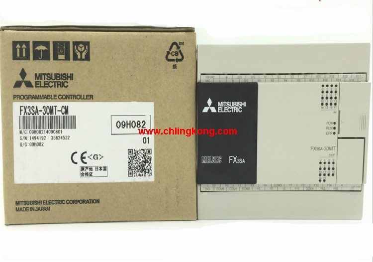 三菱q plc/三菱fx3sa-30mt-cm