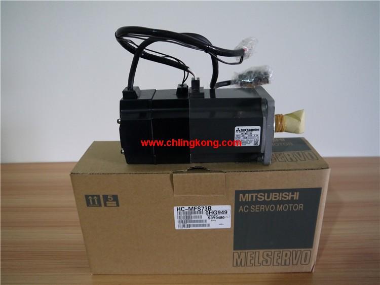 三菱HC-MFS73B,三菱plc伺服电机控制,HC-MFS73B