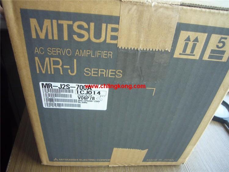 三菱 伺服放大器,三菱mr-je伺服,三菱MR-J2S-700A