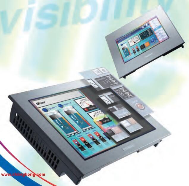 gk100-wst40 proface触摸屏,PFXGP4501TADR